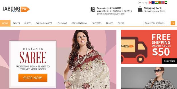 Jabong Women Shopping site