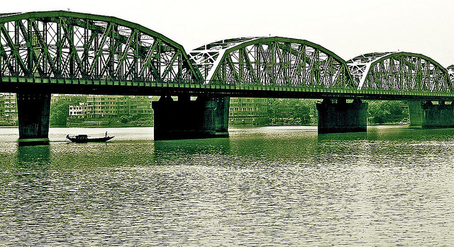 Jubilee Rail Bridge Hooghly, Calcutta