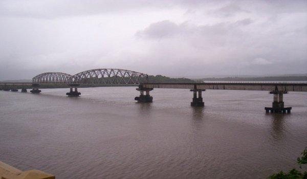 Konkan Railway Bridge, Goa