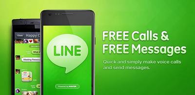 Line free voice calls