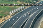 Longest National Highways of India