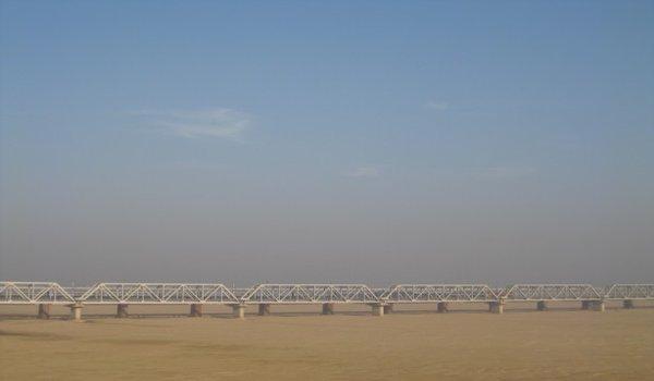 Mahanadi Rail Bridge, Orissa
