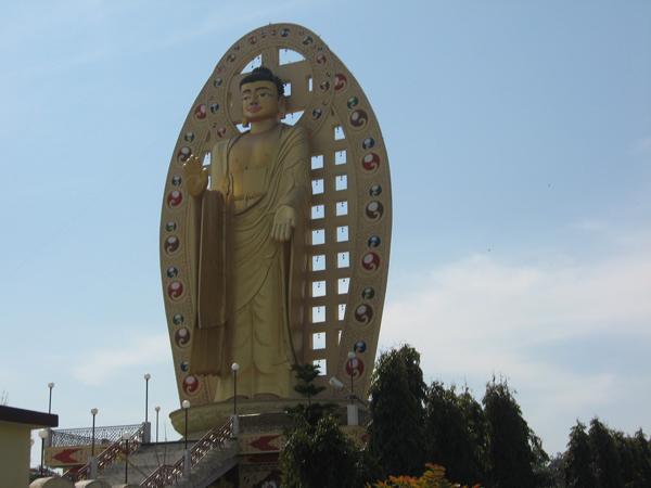 Mindroling Monastery Buddha Statue