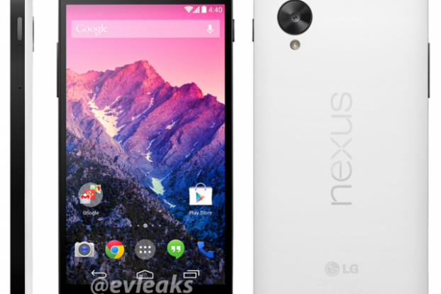 upcoming Nexus 5 smartphone
