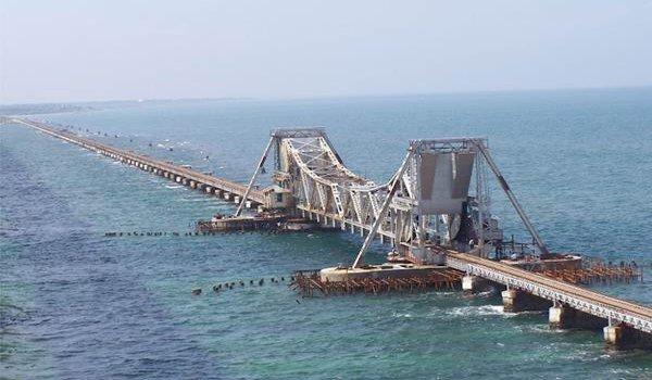 Pamban Rail Bridge, Tamil Nadu