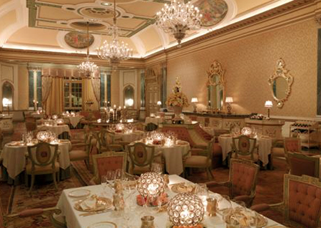Restaurant of Hotel Taj