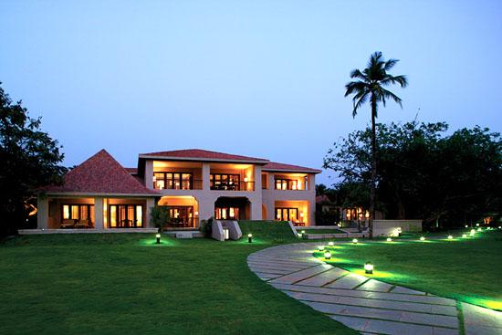 The Leela Kempinski hotel in Goa