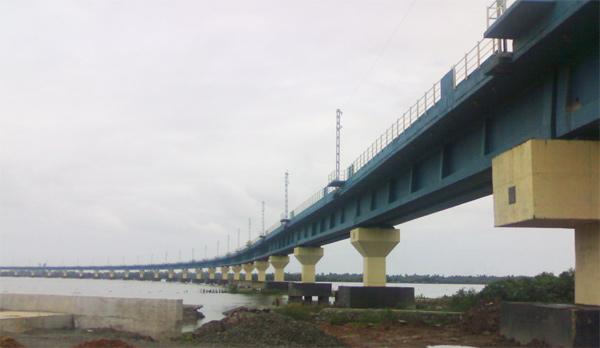 Vembanad Rail Bridge, Kerala