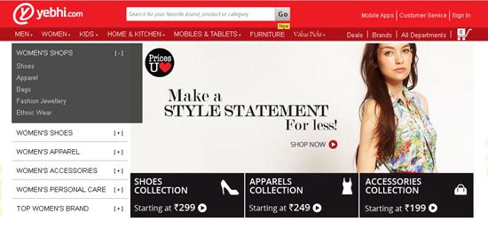 Yebhi Online Shopping India