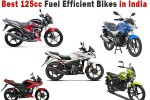 125cc Fuel Efficient Bikes