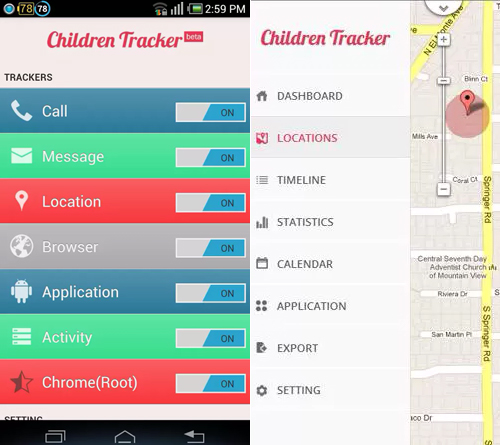 Children Tracker Apps