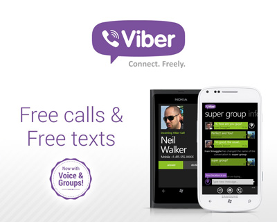 Viber android app for Free call