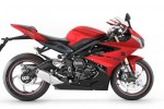 Triumph Daytona 675 bike