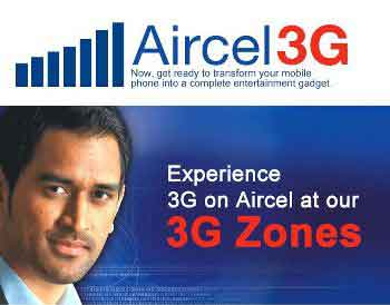 Aircel 3G technology