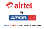 Aircel and Airtel 3G Plans