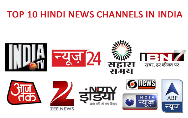 TOp Hindi News Channels in India