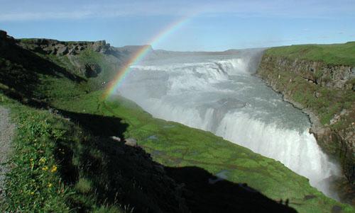Gullfoss, Southwestern Iceland