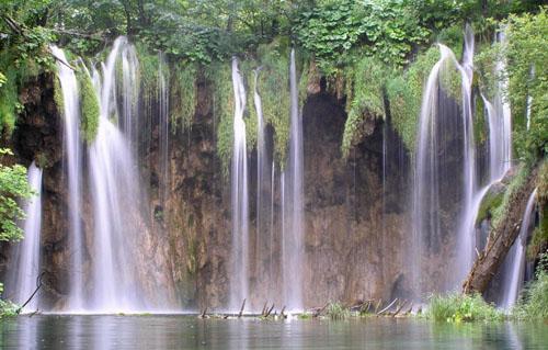 Plitvice Falls, Croatia