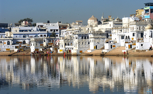 beautiful Pushkar Lake