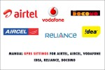 gprs settings for all networks