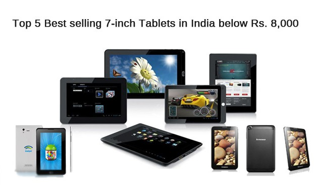 Best selling 7-inch Tablets in India