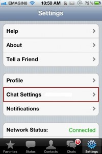 Chat-Settings