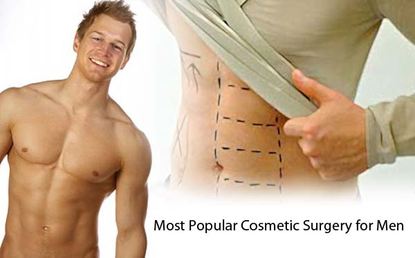 Most Popular Cosmetic Surgery for Men