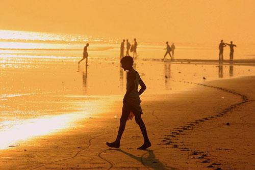 Puri Beach in Orissa
