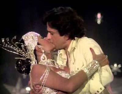 Shashi Kapoor and Zeenat Aman's kissing scene in Satyam Shivam Sundaram