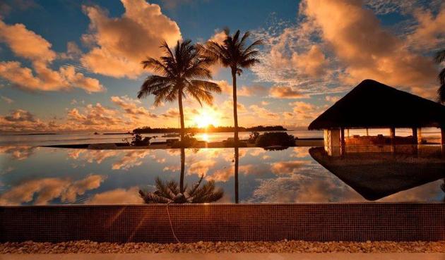 Sunset The Maldives