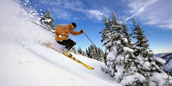 Auli skiing Uttaranchal