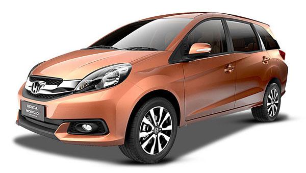 2014 Honda Mobilio MPV India