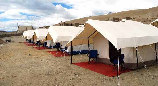 Tsomoriri camp in Ladakh