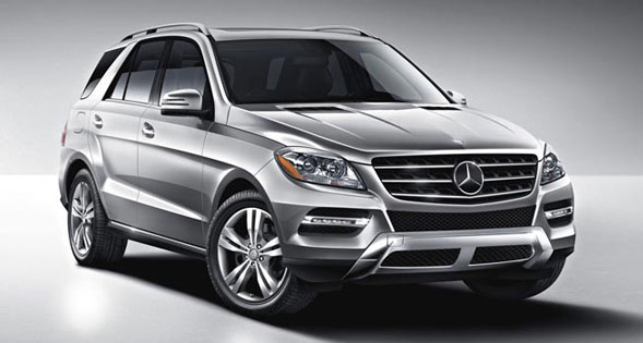 Mercedes Benz ML Class SUV India