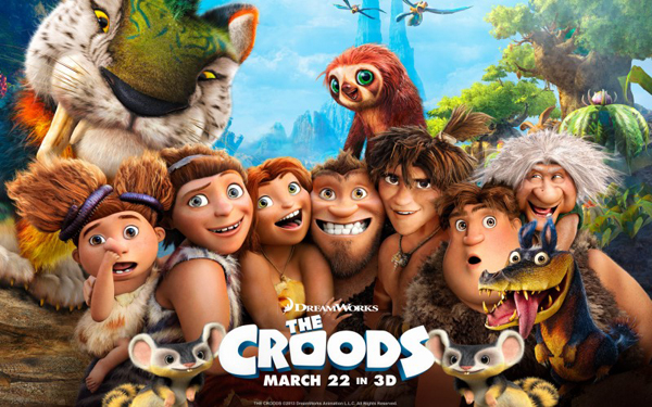 The Croods movie of 2013