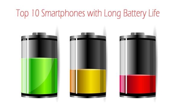 best battery life on smartphones