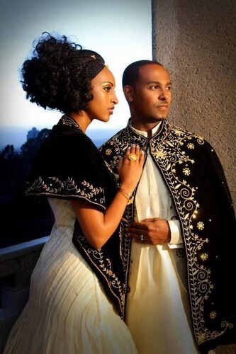 Ethiopia weddings costumes