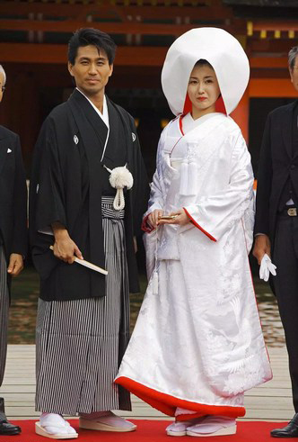 Japan weddings Outfit