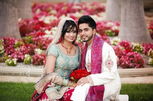 pakistan traditional weddings costumes