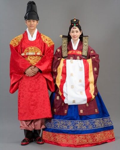 South Korea traditional weddings Outfit