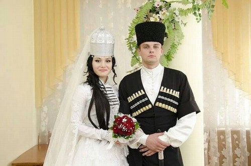traditional caucasian wedding