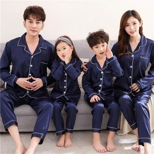 Family Night Suits, Matching Family Pajamas Set, Mom Dad Baby Nightwear